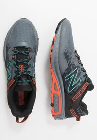 New Balance - 410 V6 - Trail running shoes - grey/black - 1