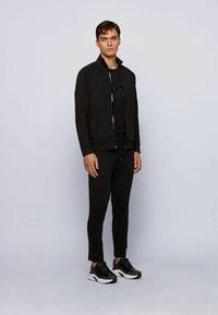BOSS - Sweater met rits - black - 1