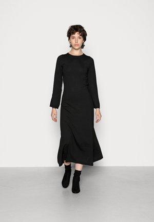 GILLIAN - Jumper dress - black
