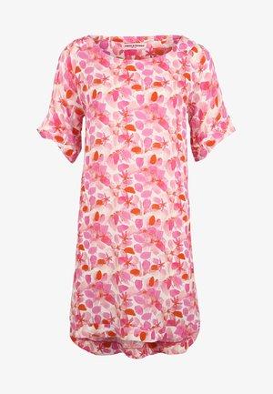 MIT BLUMENMUSTER - Robe chemise - pink