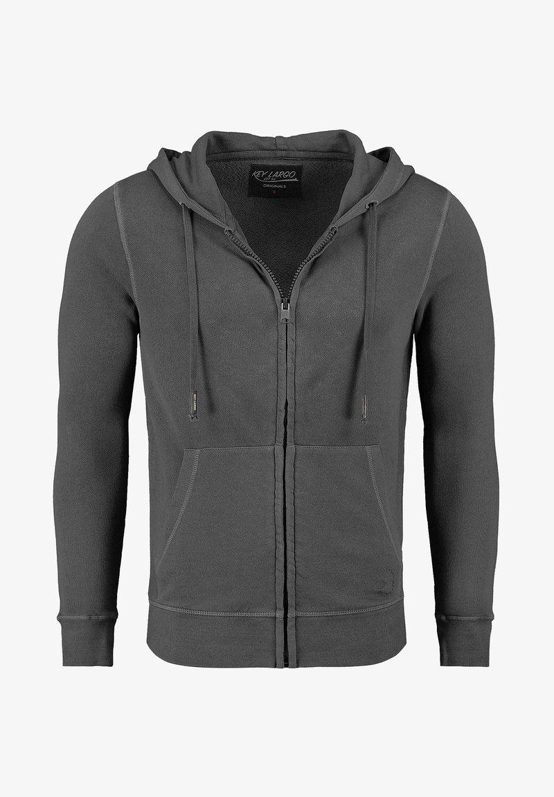 Key Largo - Zip-up hoodie - grau