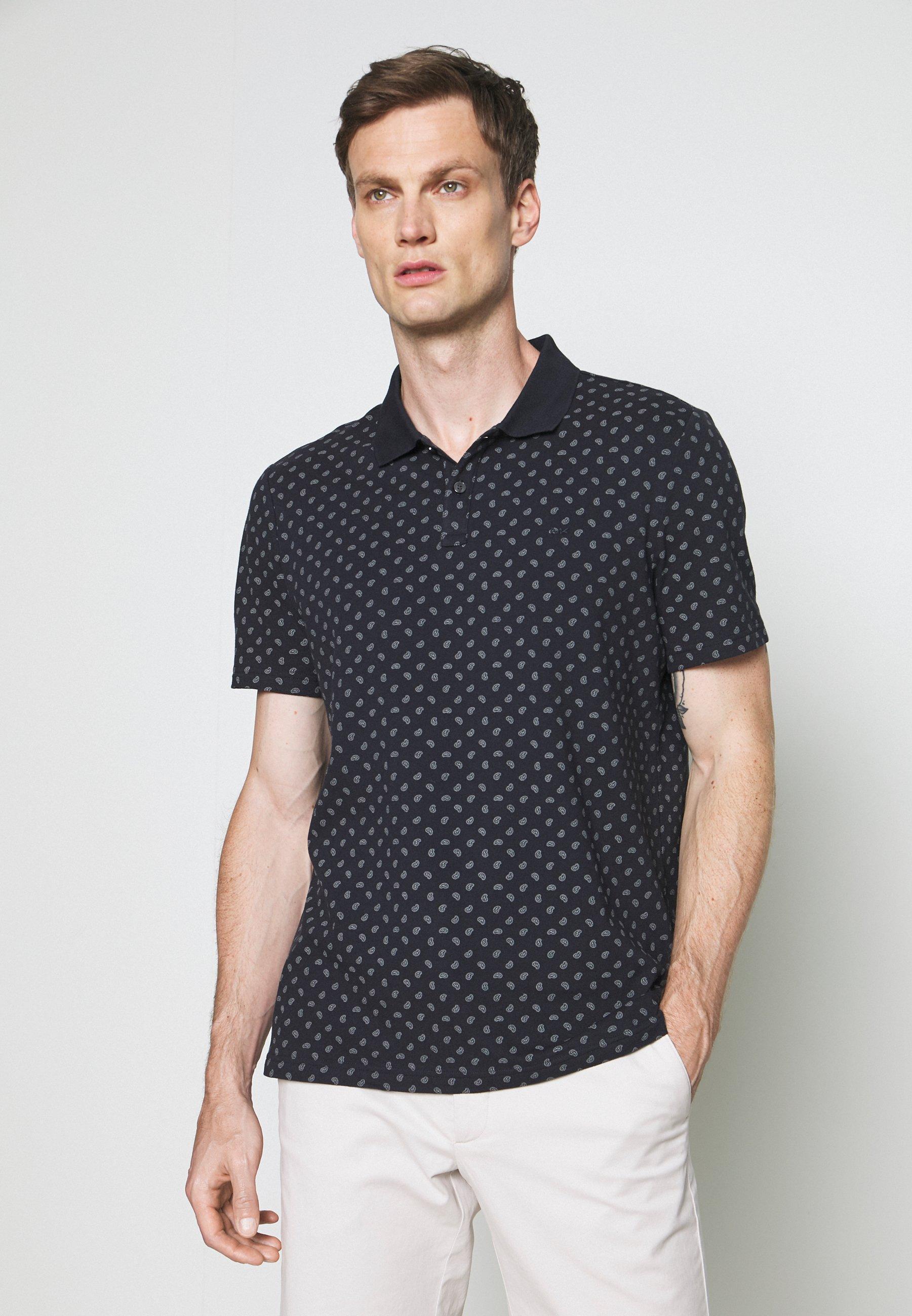 Men PRINTED PAISLEY - Polo shirt