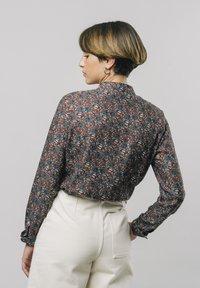 Brava Fabrics - Button-down blouse - red - 2