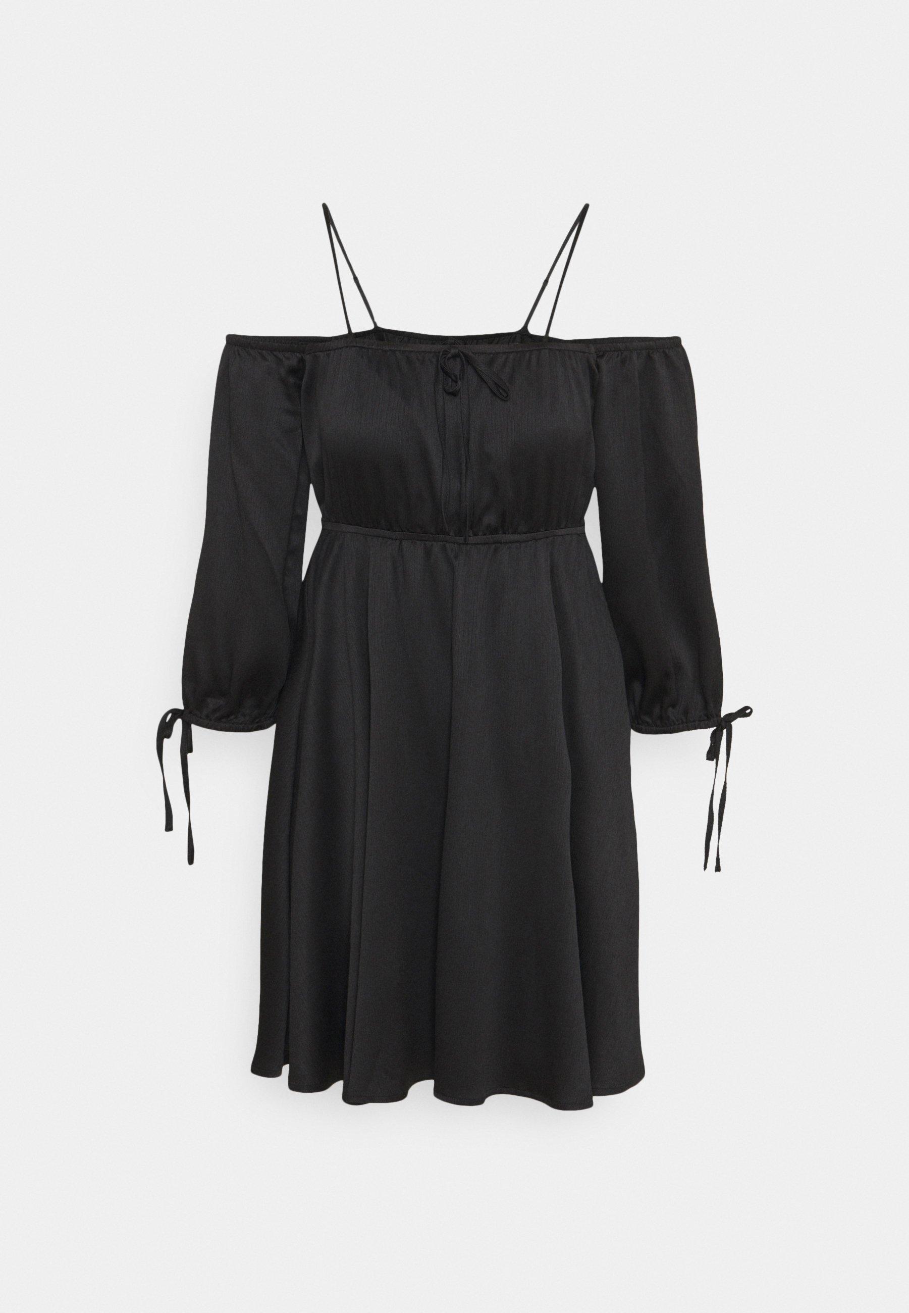 Women OFF SHOULDER MINI DRESS - Day dress