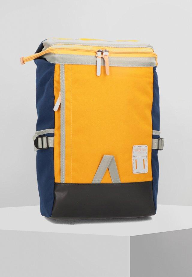 KUZUMI 43 CM LAPTOPFACH - Rucksack - yellow