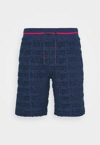 SHORT LOGO - Pyjama bottoms - blue