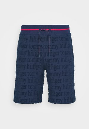 SHORT LOGO - Pyjama bottoms - blue
