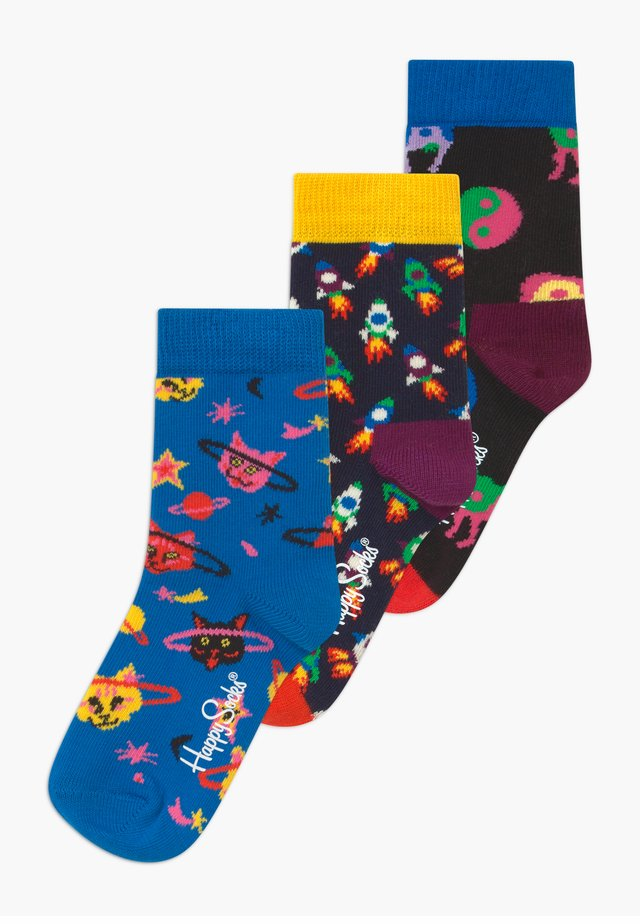 SPACE CAT 3 PACK - Socks - multi-coloured