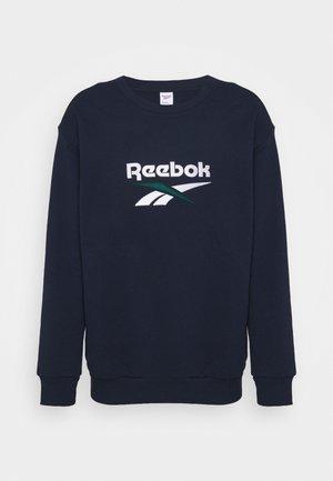 VECTOR CREW - Sweatshirt - vector navy
