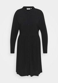 ONLY Carmakoma - CARNEWMARRAKESH - Shirt dress - black - 5