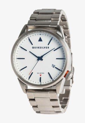 Horloge - silver/ white/ silver