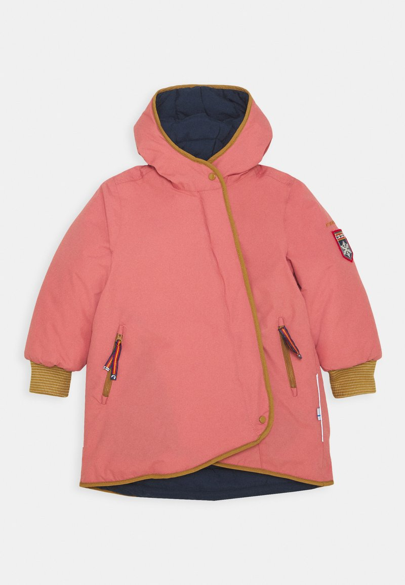 Finkid - LIKKA TUPPI - Hardshell jacket - rose/cinnamon