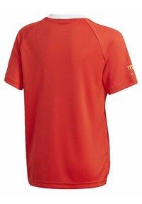 adidas Performance - SALAH FOOTBALL INSPIRED T-SHIRT - Print T-shirt - red - 1