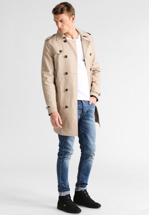 Pier One Prochowiec - beige/jasnobrązowy Odzież Męska JRSB