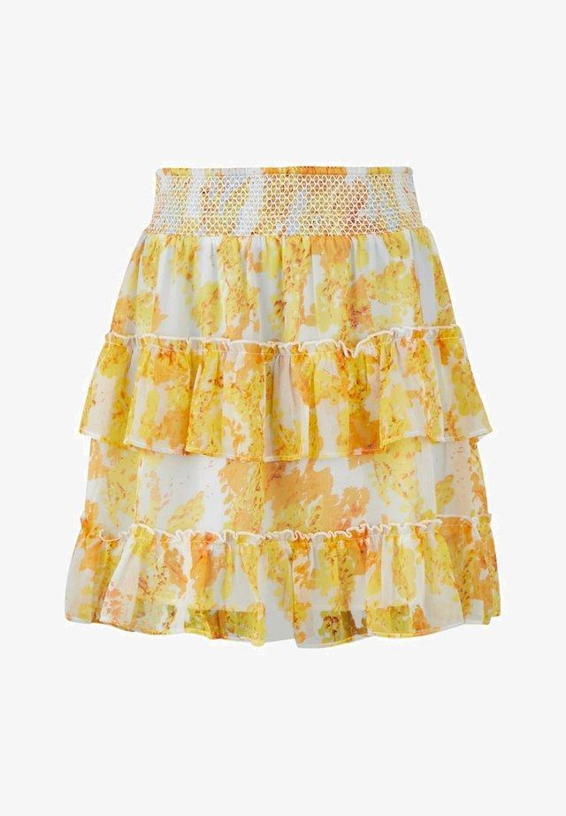 A-line skirt - star white