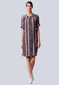 Alba Moda - Day dress - schwarz,pink - 1