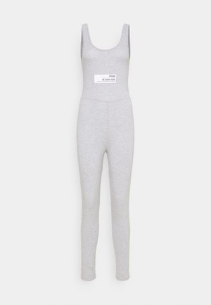 LIFESTYLE PATCH UNITARD - Jumpsuit - grey