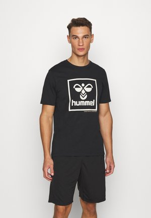 HMLISAM - Camiseta estampada - black