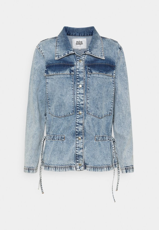 DELIZ JACKET - Denim jacket - blue stone