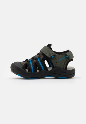 JR KYLE - Walking sandals - military/sky