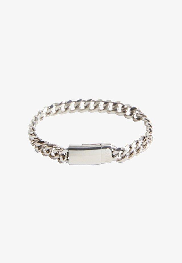 CHAIN2 - Bracelet - argent