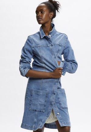 DHVILMA - Denim dress - light blue retro wash