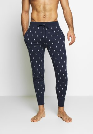 PRINTED LIQUID  - Pyjama bottoms - cruise navy
