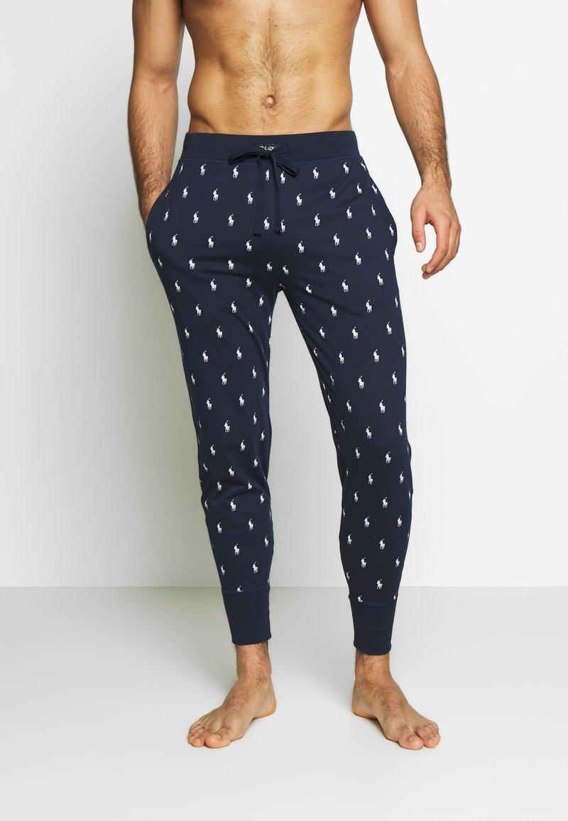 Polo Ralph Lauren - PRINTED LIQUID  - Pyjama bottoms - cruise navy