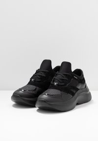 KARL LAGERFELD - SKYLINE DELTA LO LACE MIX - Trainers - black - 4