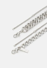 Topshop - URBAN CHUNKY 2 PACK - Ketting - silver-coloured - 1