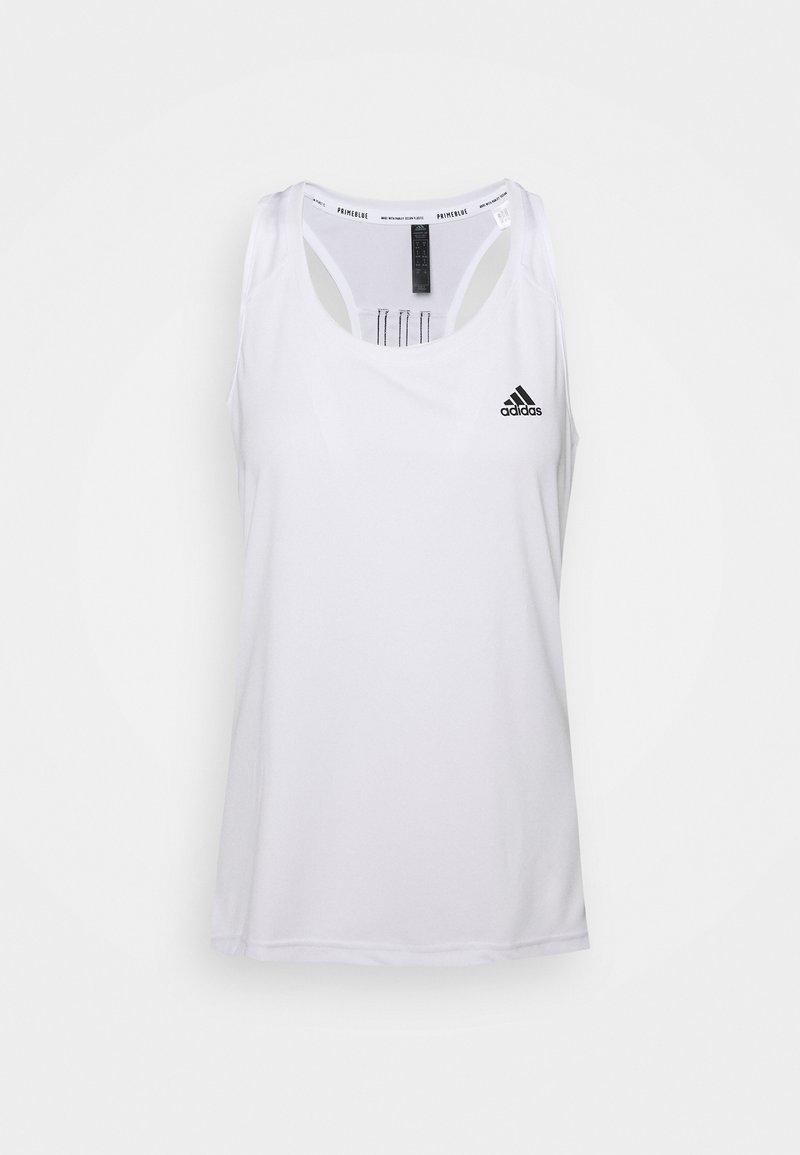 adidas Performance - Treningsskjorter - white/black