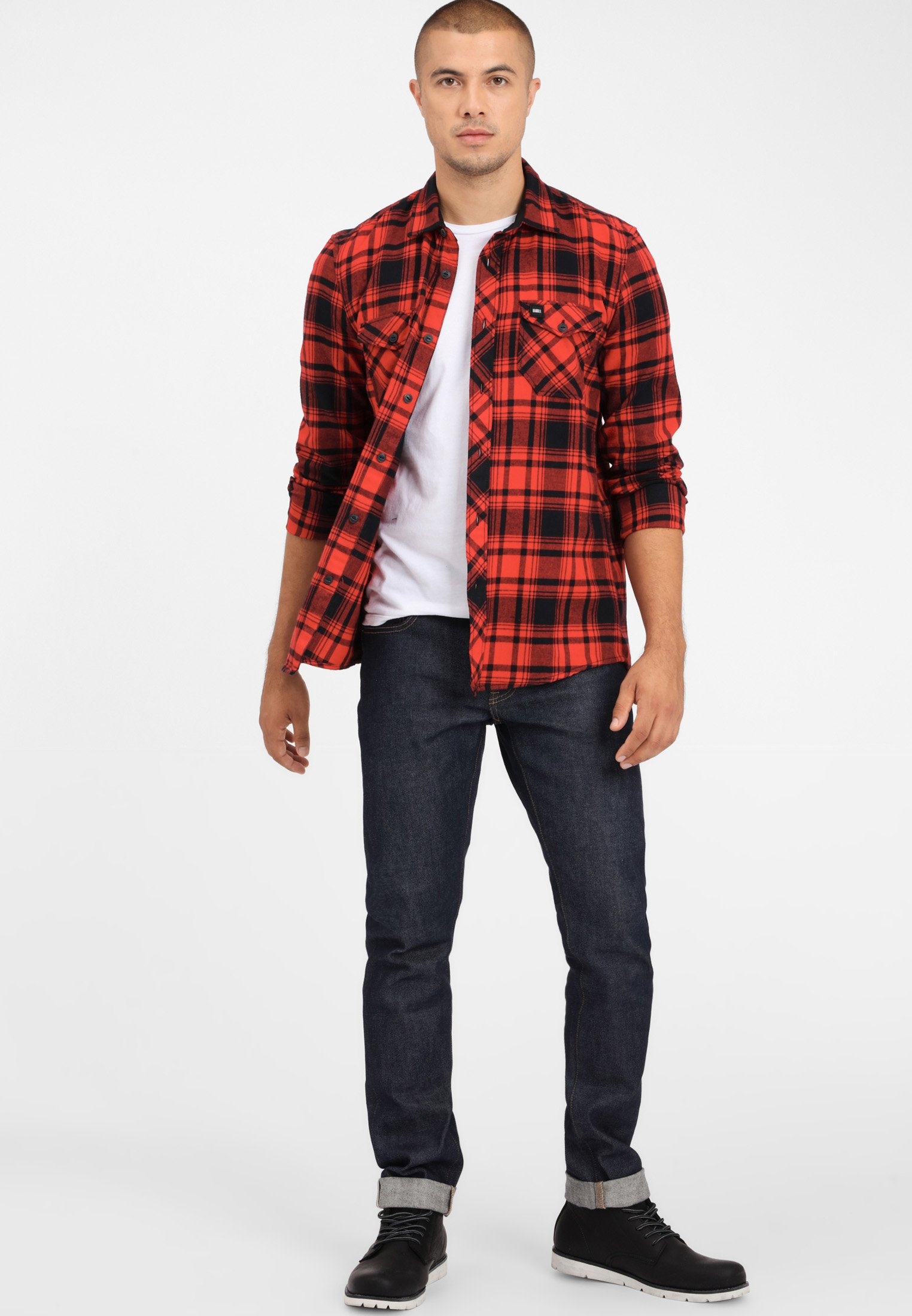 O'Neill LONG SLEEVE - Chemise - red