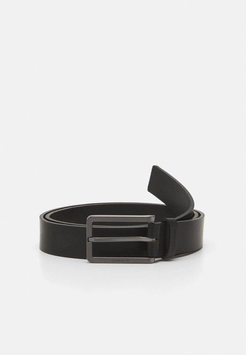 Calvin Klein - ESSENTIAL PLUS ELONG - Pásek - black