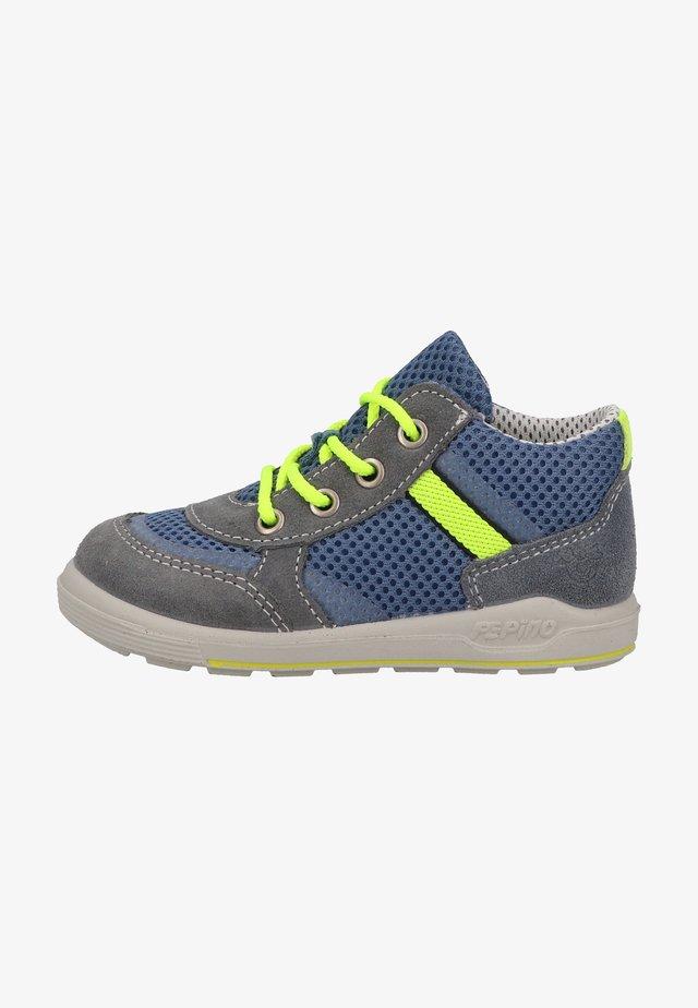 Sneakers laag - grau/jeans