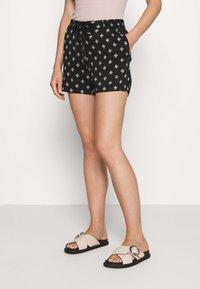 s.Oliver - Shorts - black - 0
