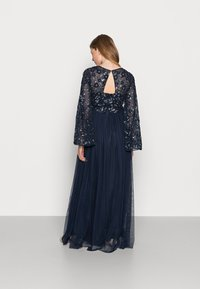 Maya Deluxe Maternity - FLORAL EMBELLISHED BELL SLEEVE MAXI - Occasion wear - navy - 2