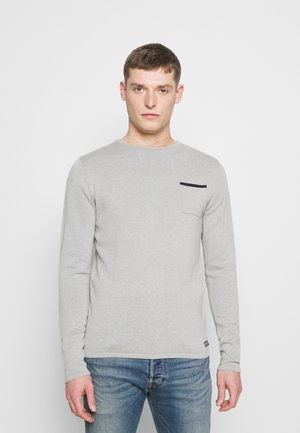 Pullover - light grey melee