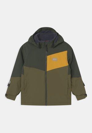 JEBEL UNISEX - Snowboardová bunda - dark khaki