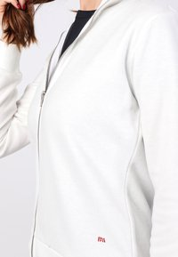 Basics and More - Zip-up sweatshirt - off-white - 2