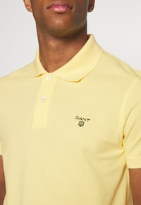 GANT - SUMMER RUGGER - Polo shirt - brimstone yellow - 3
