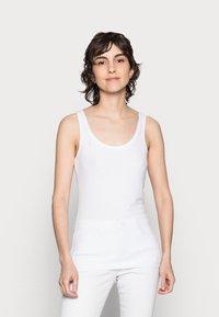 Anna Field - 3 PACK - Topper - black/white /khaki - 5