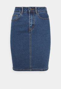 Vero Moda Petite - VMHOT NINE PENCIL  - Falda de tubo - medium blue denim - 0