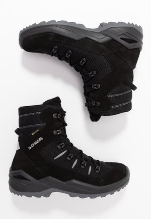 RUFUS GTX - Winter boots - schwarz/grau