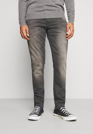 3301 STRAIGHT TAPERED - Straight leg jeans - slander grey  superstretch