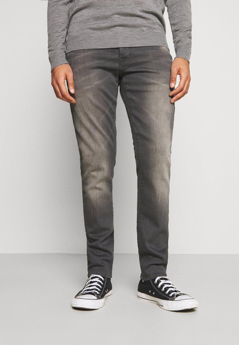 G-Star - 3301 STRAIGHT TAPERED - Straight leg jeans - slander grey  superstretch