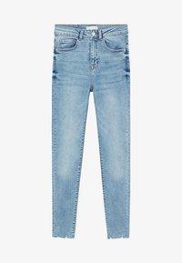 Mango - DINA - Slim fit jeans - azzurro - 0