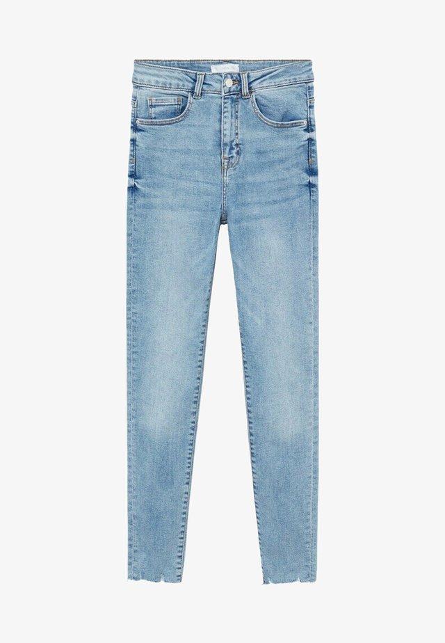 DINA - Jeans slim fit - azzurro