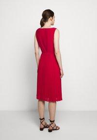 Lauren Ralph Lauren - MID WEIGHT DRESS  COMBO - Day dress - berry sorbet - 2