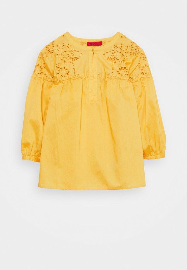 PIOVOSO - Bluzka - sunshine yellow