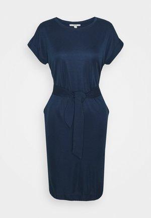 STRUC DRESS - Shift dress - navy
